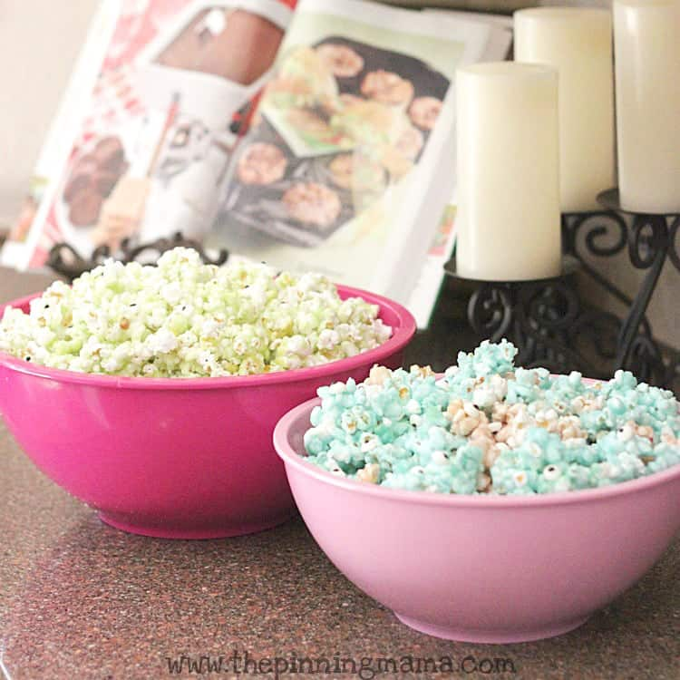 Monsters University Candied Monster Popcorn www.thepinningmama.com