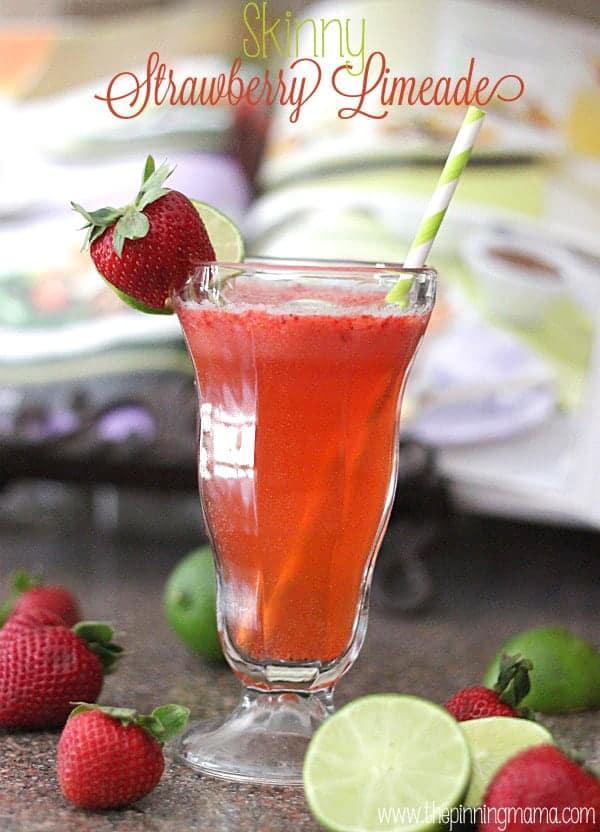 Skinny Strawberry Limeade Recipe