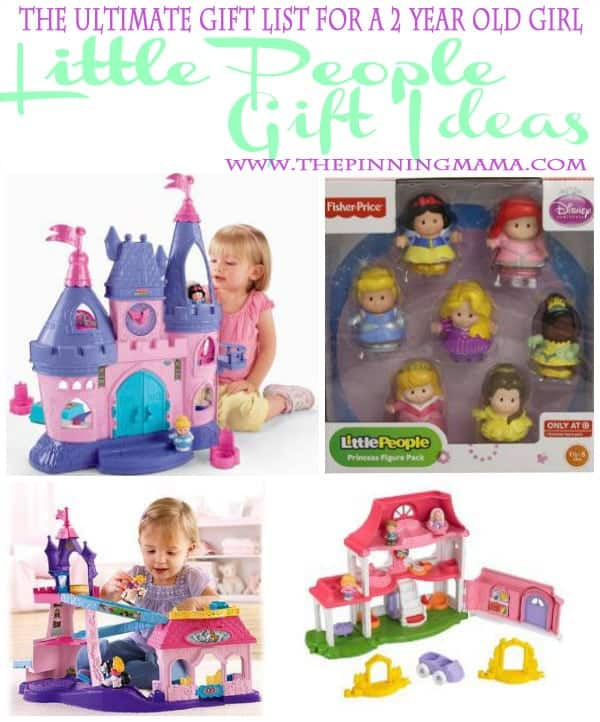 Little People Gift Ideas are perfect for a 2 year old!