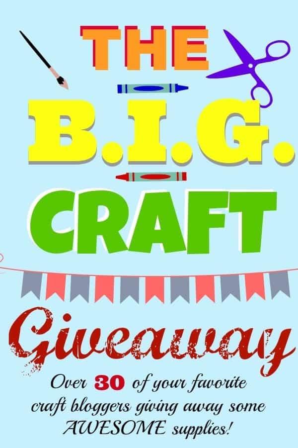 BIG Craft Giveaway