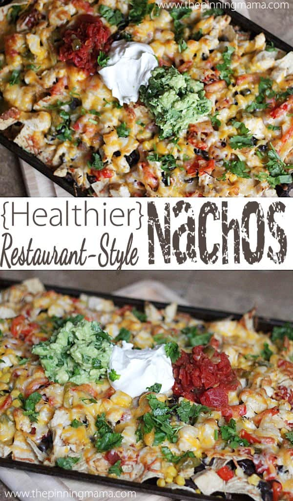 I always love ordering nachos at restaurants. Who knew it was so easy to make them at home!