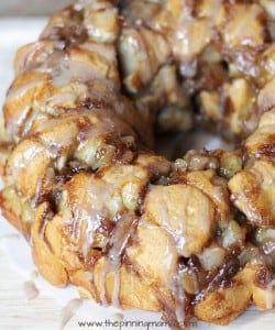 Apple Pie Monkey Bread. This sounds like a great excuse to eat apple pie for breakfast!!