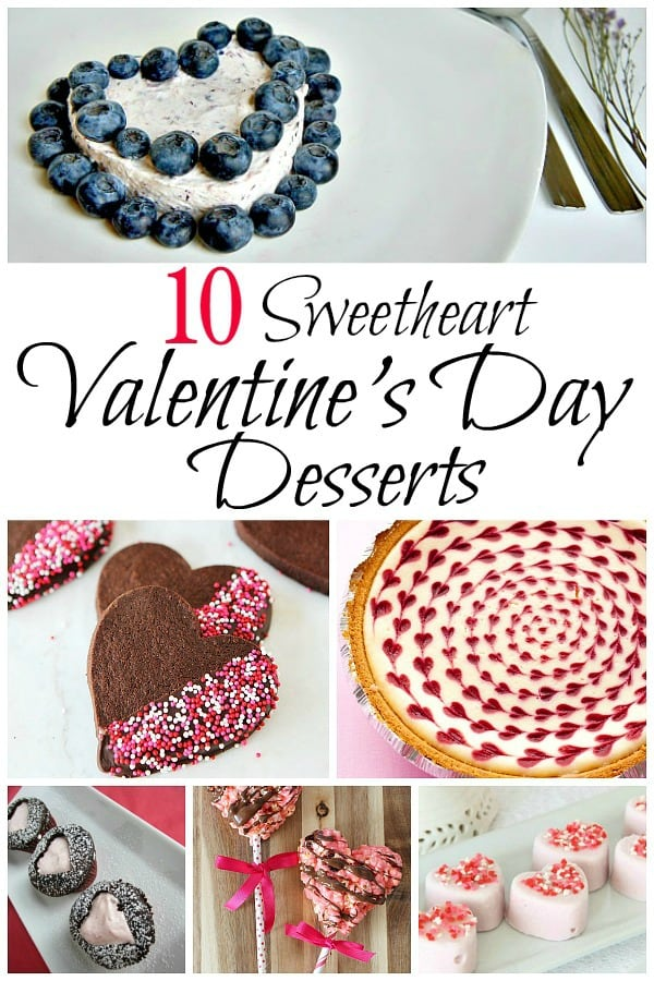 Make Valentine's Day a little more special with heart shaped desserts for your sweetheart. Great classroom favor ideas and simple make ahead desserts.