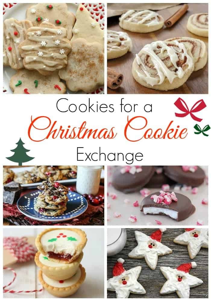 Cookies Perfect for a Christmas Cookie Exchange