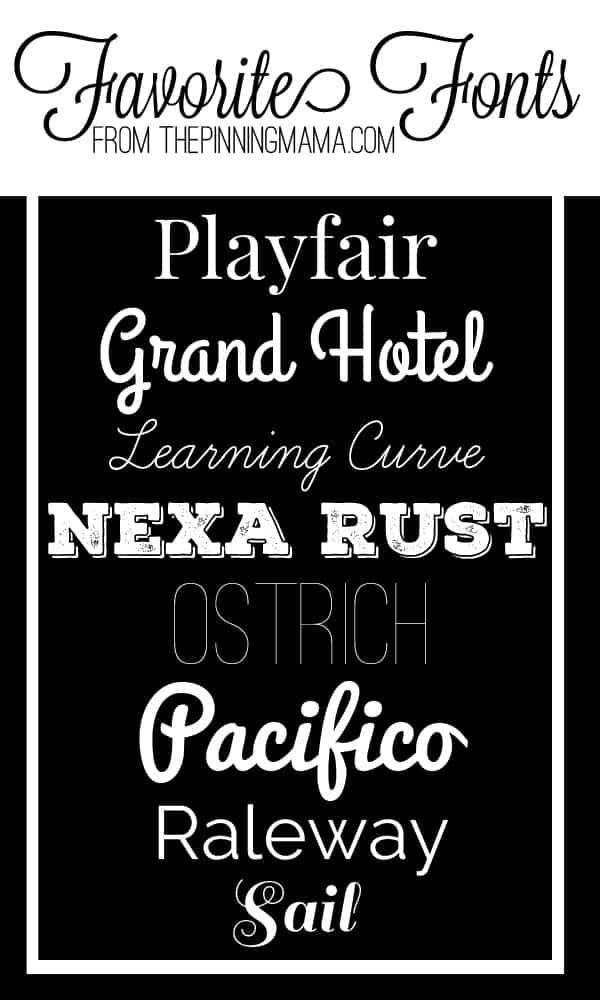 Love these cute FREE fonts via thepinningmama.com