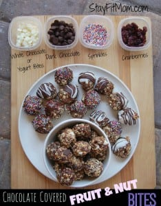 It's like a Lara bar for kids!! Fruit & Nut Bites - Kid Friendly Healthy Snack