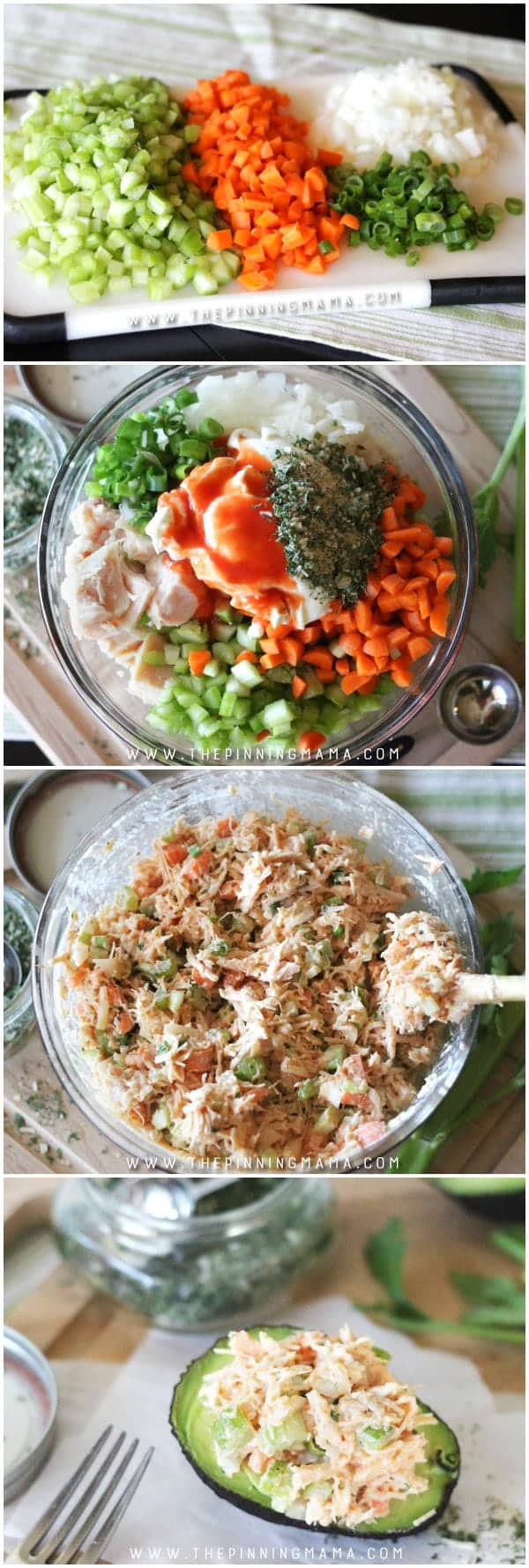 Step by Step how to make Easy Buffalo Ranch Chicken Salad. This easy recipe is so delicious! It is packed with flavors and you can make it as spicy as you want. As a bonus, it is Paleo, Whole30 Compliant, gluten free, dairy free, and just plain tasty whether you are following a special diet or not.