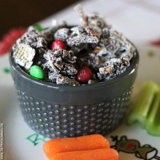 Leaving out reindeer food is an important part of our Christmas traditions each year. This special recipe ensures the reindeer have enough energy to pull Santa and the sleigh full of presents to the rest of the world after he leaves our home!