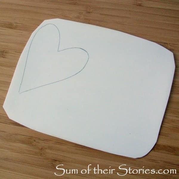 draw shape on plastic