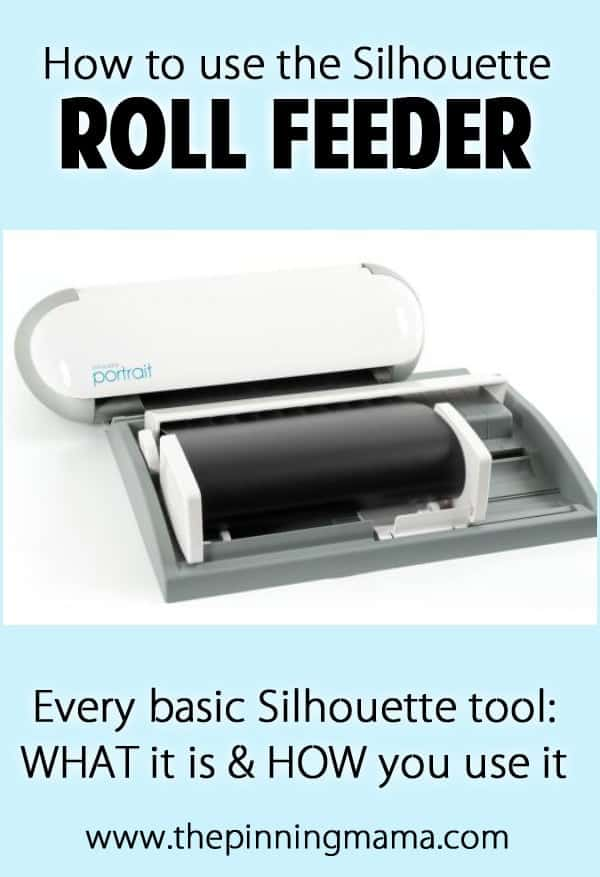 Silhouette Roll Feeder Tool: How to use every basic Silhouette Tool - Click here to see them all!