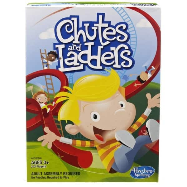 Board Games for Preschoolers: Chutes and Ladders