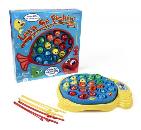 Board Games for Preschoolers: Fishing Game