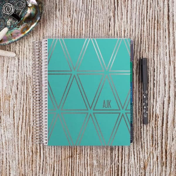 Planners to make meal planning easy: Erin Condren Life Planner