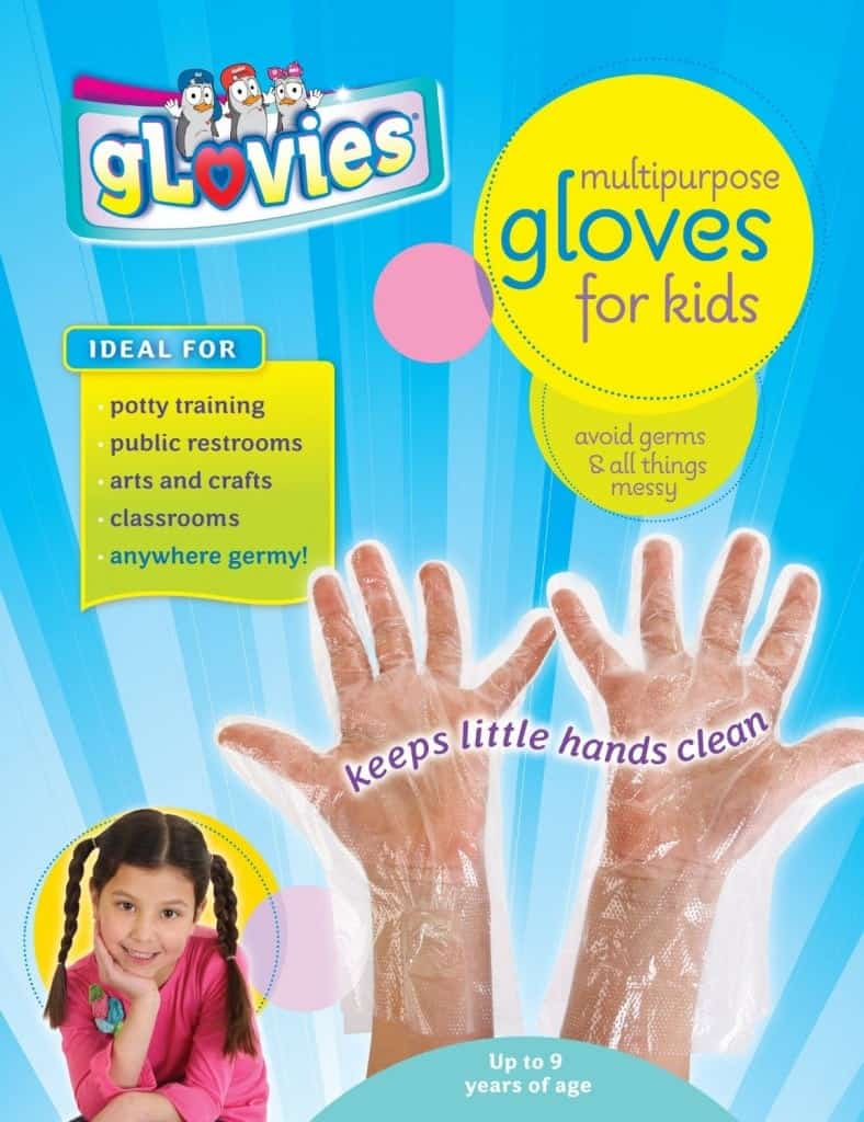 10+ Simple Things to Help Kids Clean: Disposable Gloves - www.thepinningmama.com
