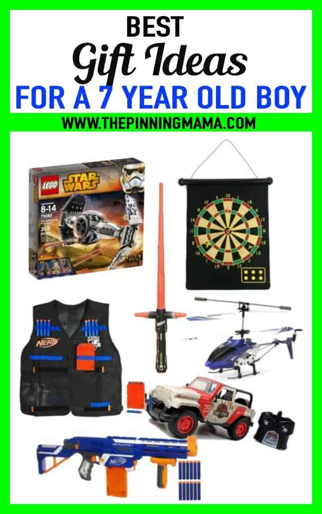 Best Gift Ideas For A 7 Year Old Boy The Pinning Mama