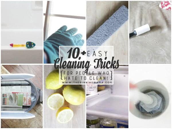 The BEST Cleaning hacks, tips and tricks I have found! I especially love number 4