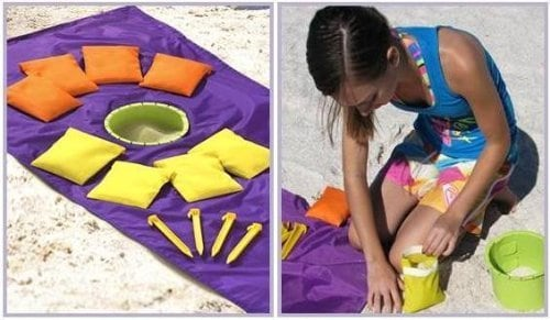 10+ Best Games and Toys for a Fun Day at the Beach: Sand Hole | www.thepinningmama.com