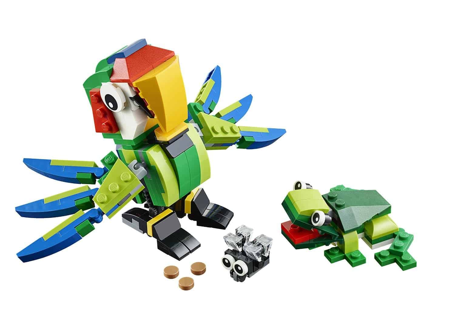 Lego Gift Ideas by Age - Toddler to Twelve Years: Rainforest Animals | www.thepinningmama.com