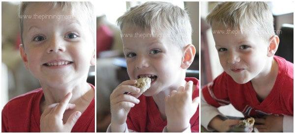 Kids love cookies!