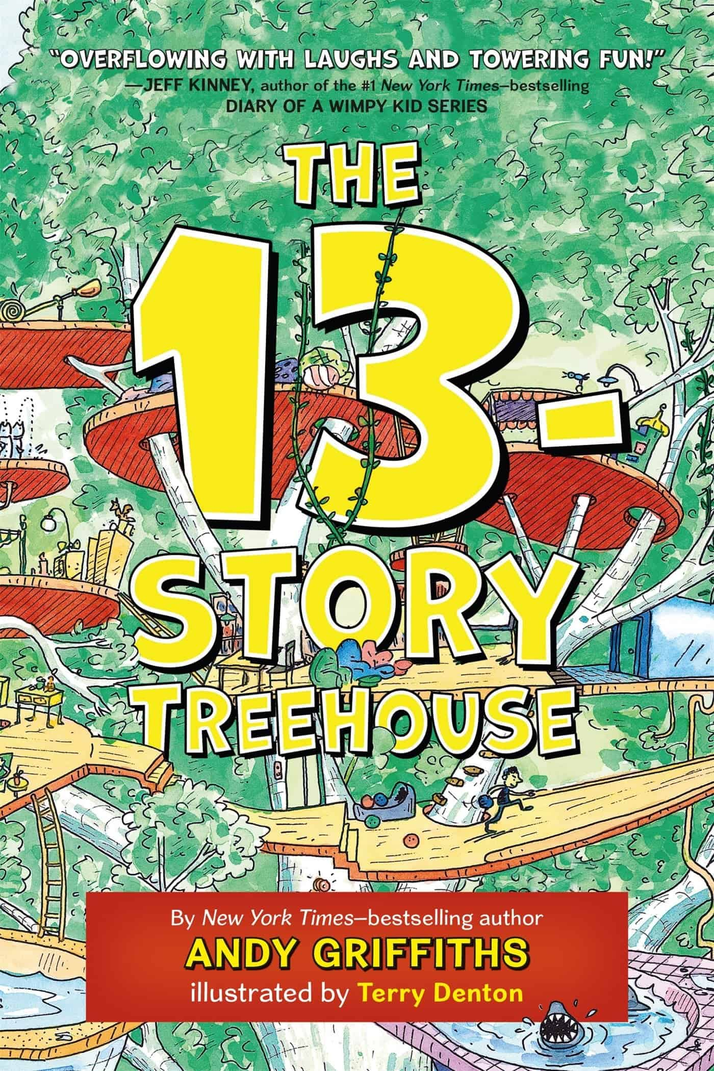 10+ Top Books for Kids to Read this Summer: The 13-Story Tree House| www.thepinningmama.com