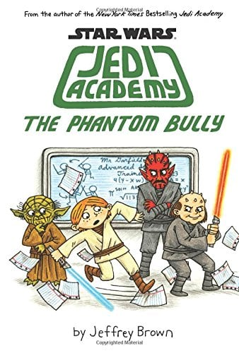 10+ Top Books for Kids to Read this Summer: Jedi Academy Phantom Bully| www.thepinningmama.com