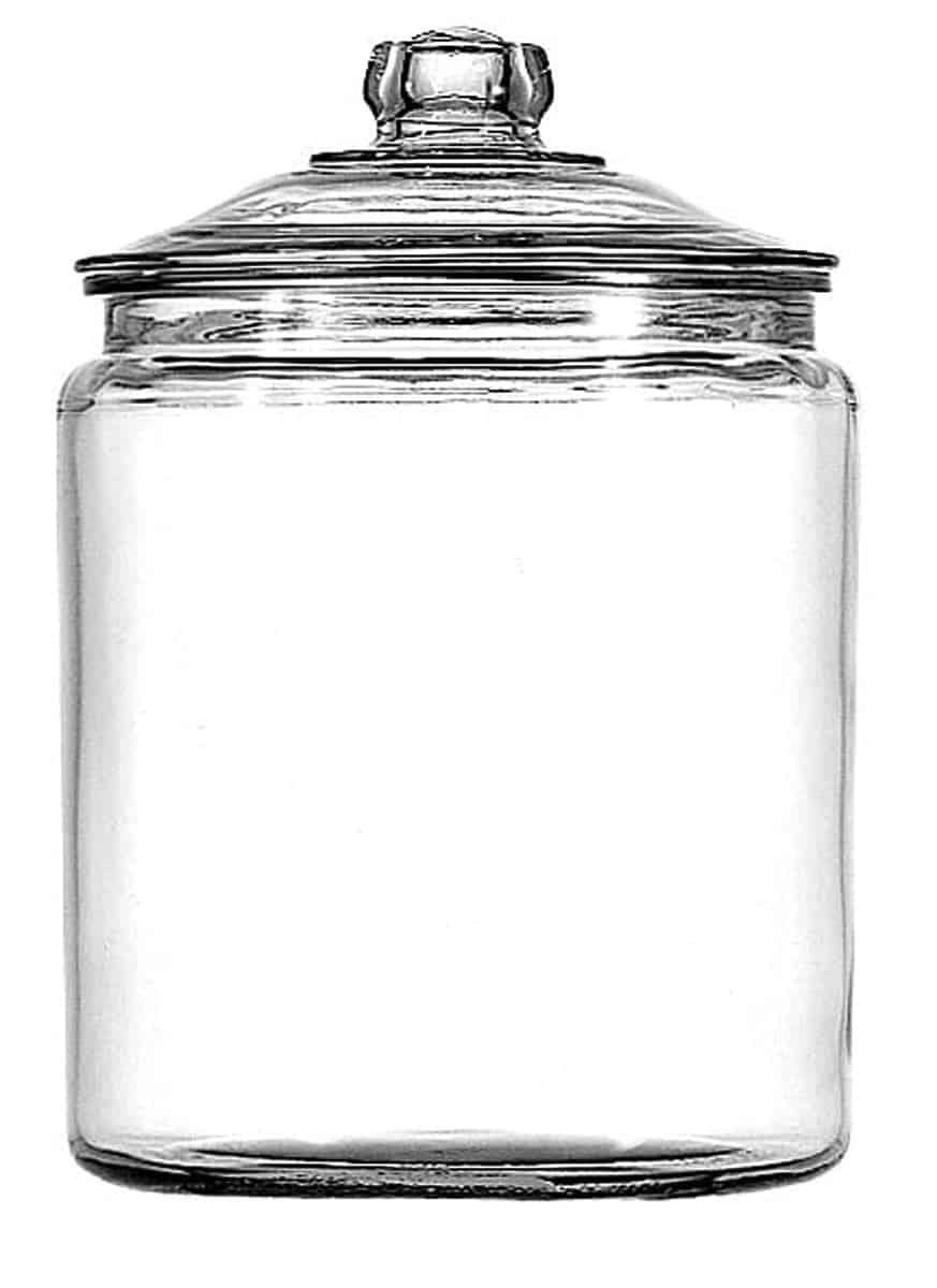 Awesome Crafting Blanks You Can Get on Amazon Prime : Glass Kitchen Jar | www.thepinningmama.com