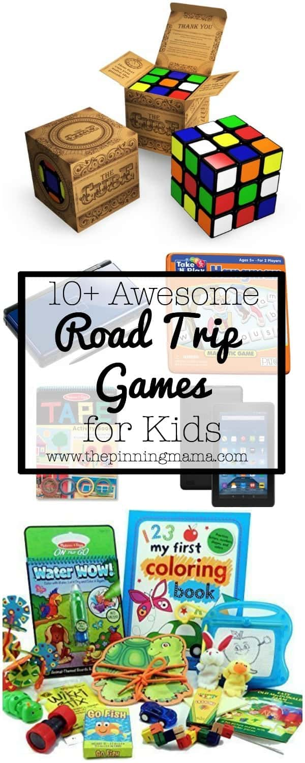 10+ Awesome Ways to Entertain your Kids on a Roadtrip| www.thepinningmama.com