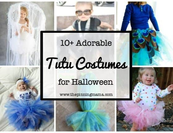 10+ Adorable Tutu Halloween Costumes| www.thepinningmama.com