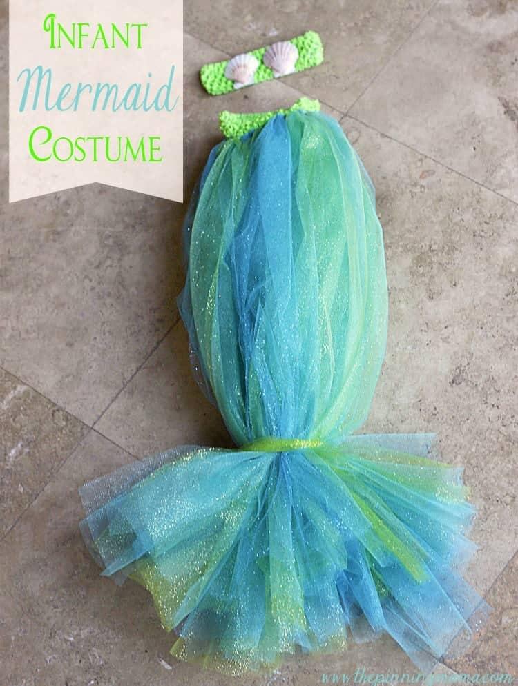 10+ Adorable Tutu Halloween Costumes: Mermaid | www.thepinningmama.com