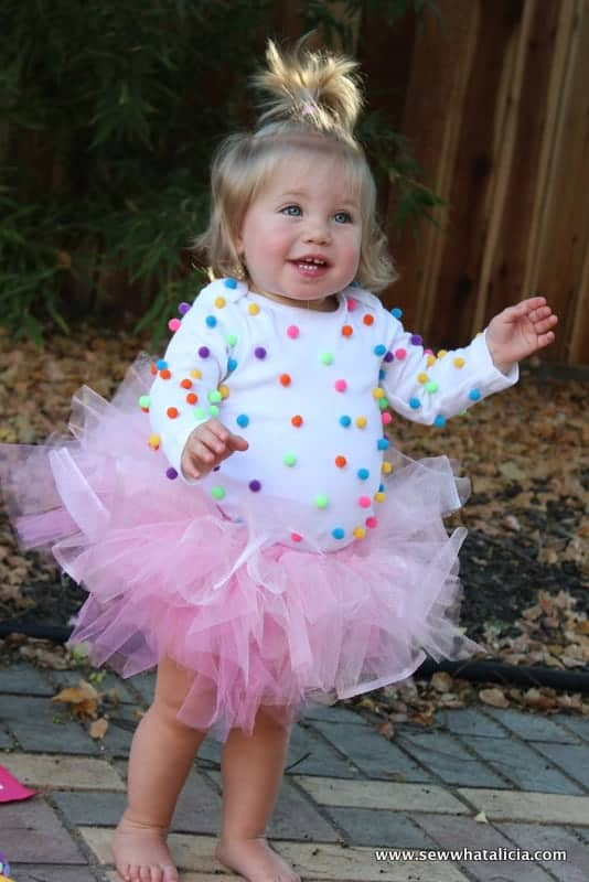 10+ Adorable Tutu Halloween Costumes: Cupcake   www.thepinningmama.com