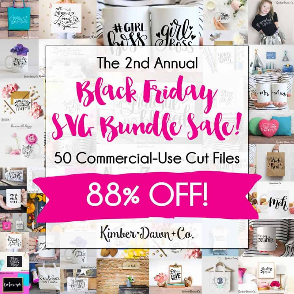 Silhouette Cut File Bundle - Black Friday Sale