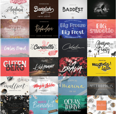 Black Friday Font Bundle Coupon Code