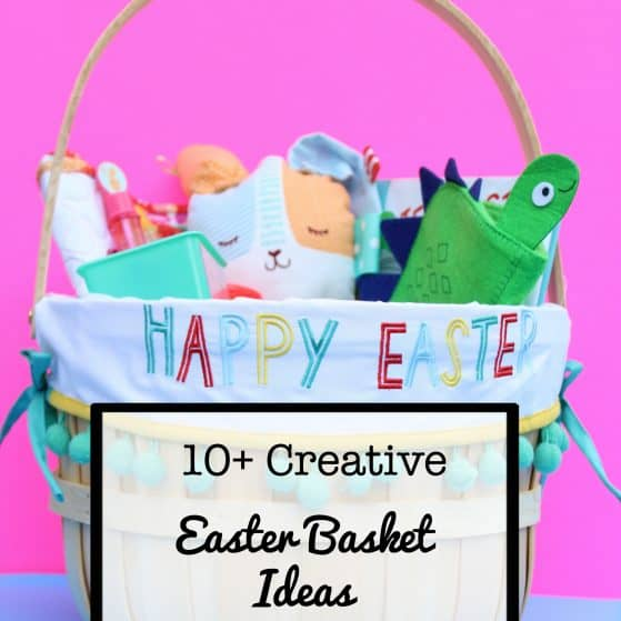 10+ Creative Ideas for a Candy Free Easter Basket | www.thepinningmama.com