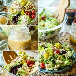 Loaded Greek Salad Step by step