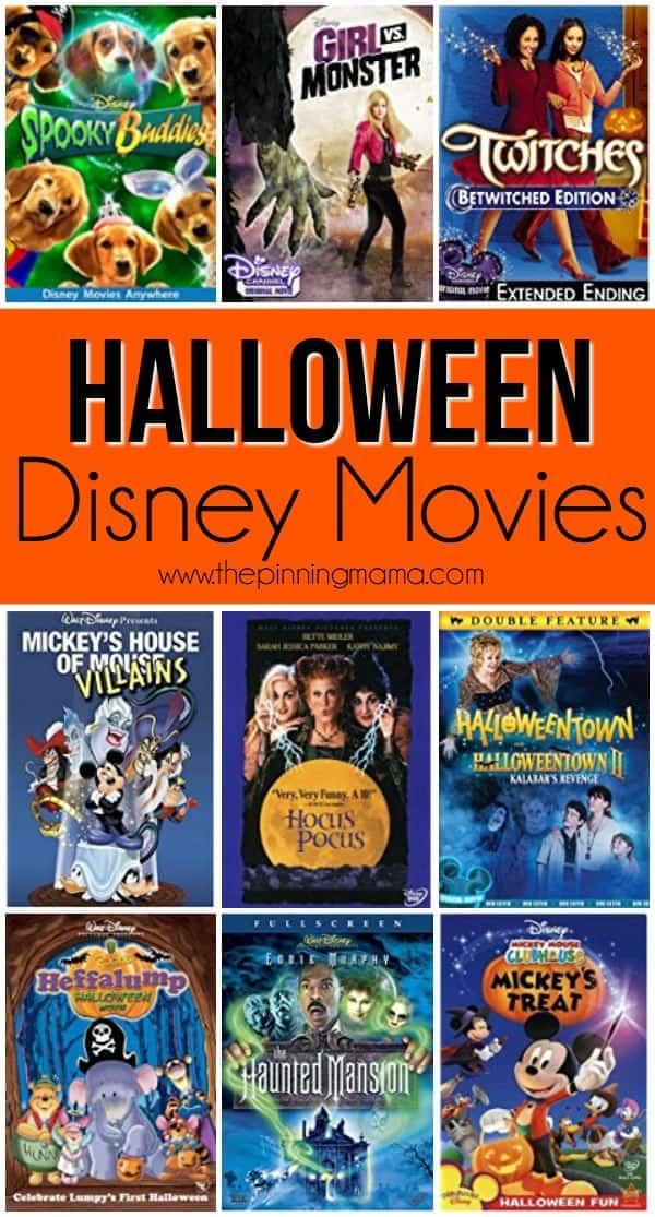 Great list of Halloween Disney Movies