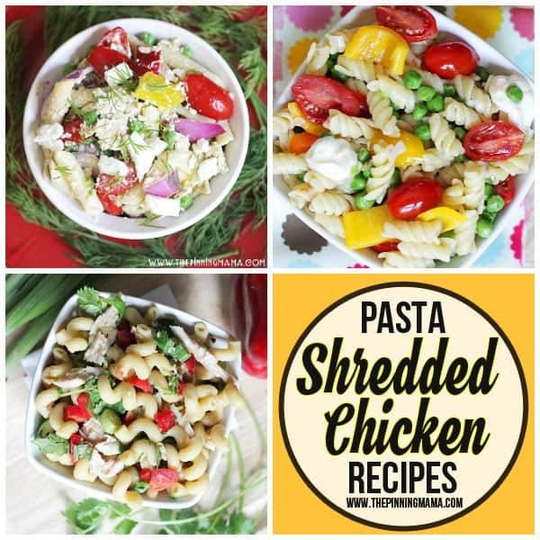 Shredded Chicken Pasta recipes