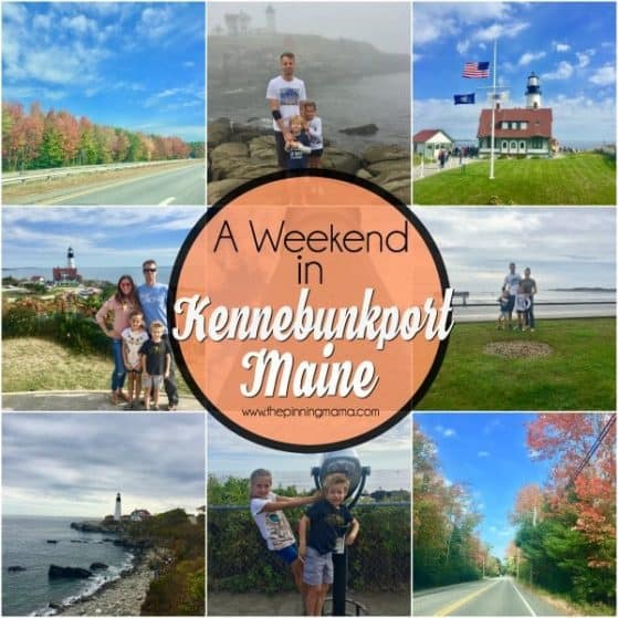 weekend fun in Kennebunkport maine