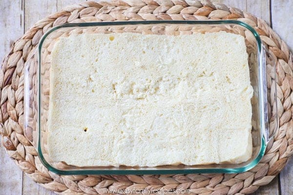 Shredded Chicken Sliders Step 1 - Cut the bread