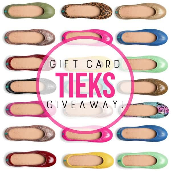 TIeks Gift Card + Intentional Life Day Planner Giveaway