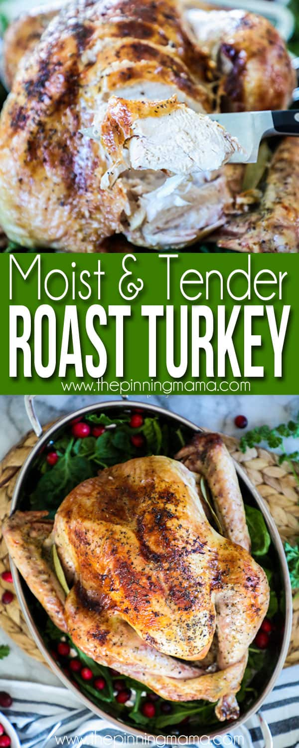 Tender & Juicy Roast Turkey Recipe