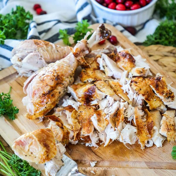 Roast Turkey Meat made in the oven