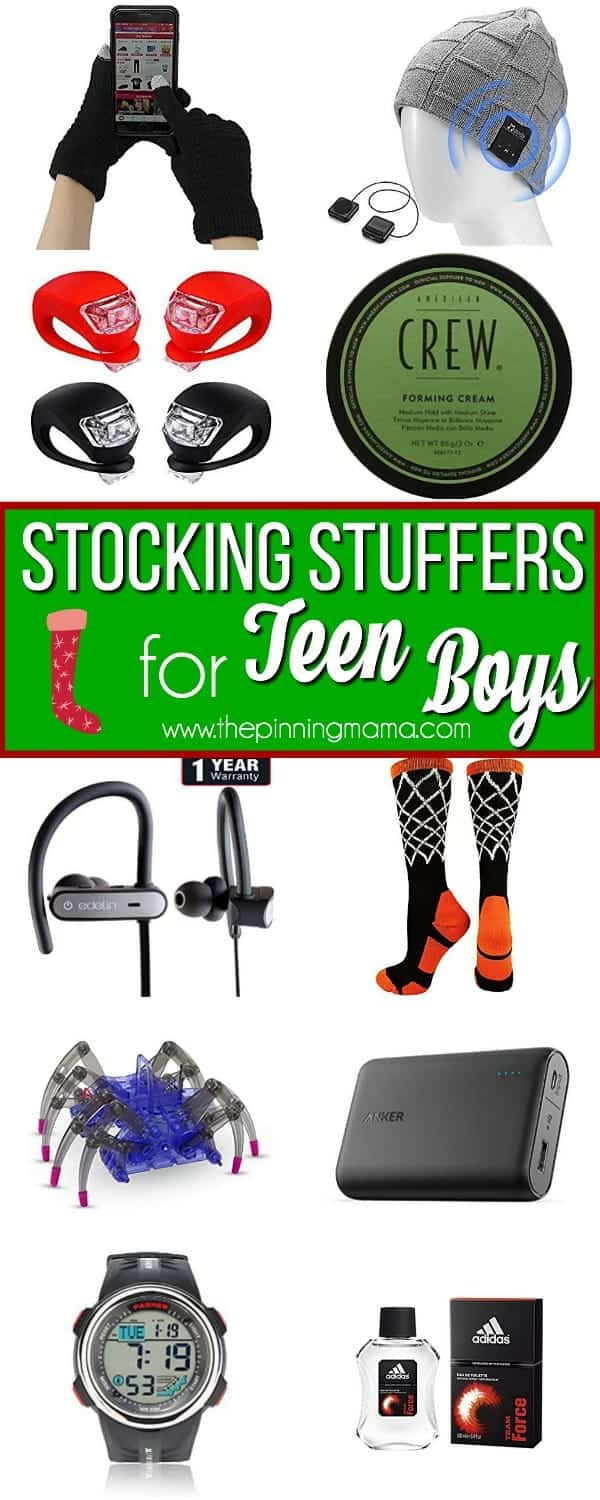 Great Stocking Stuffers for Teen Boys