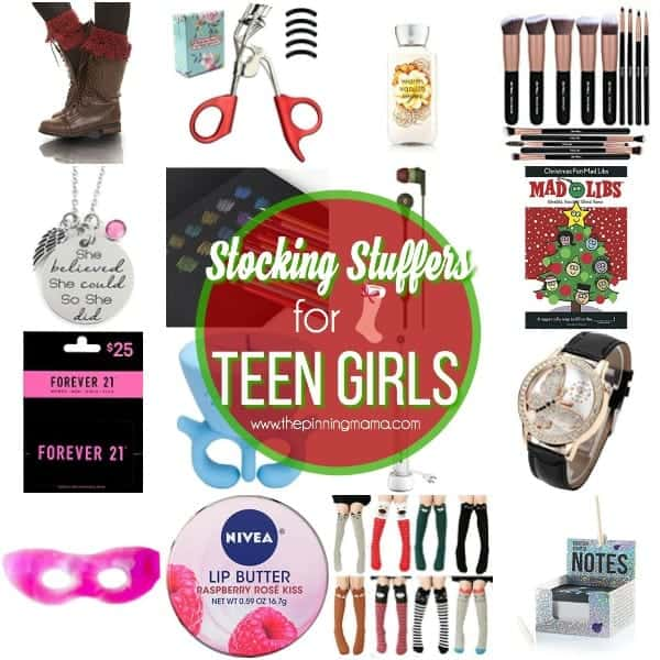 The Big List of Stocking Stuffers for Teen Girls