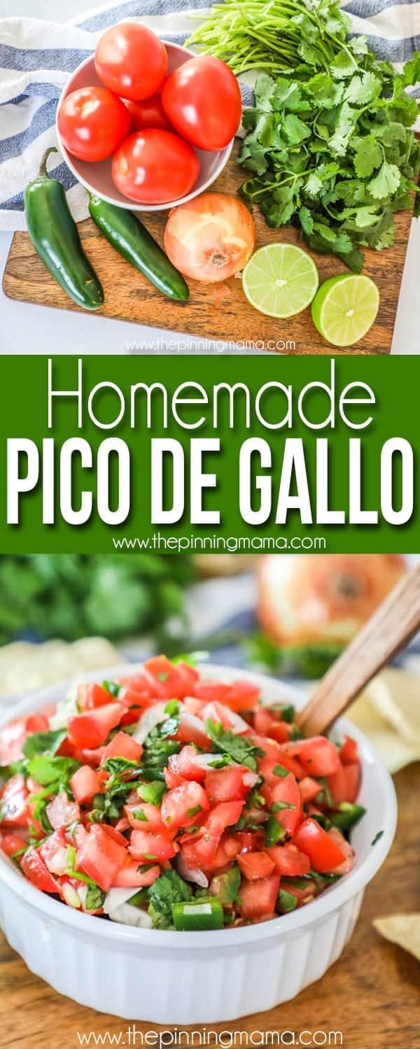 Pico de Gallo Recipe