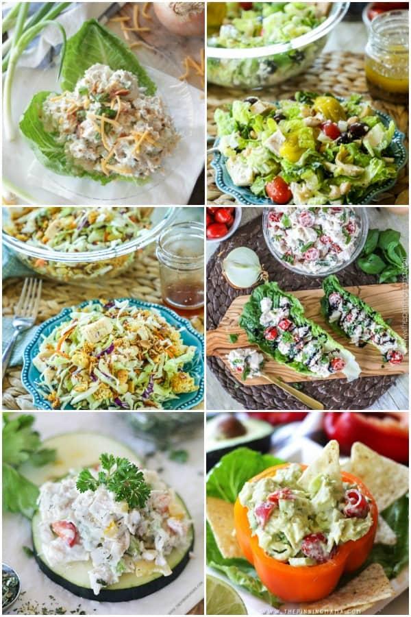Leftover Rotisserie Chicken Salad Recipes