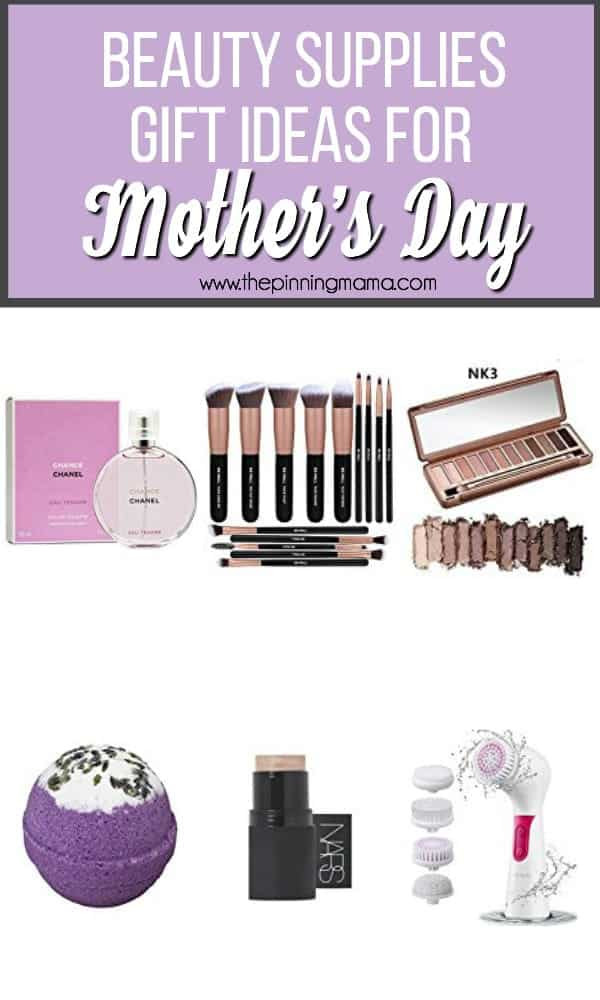 Beauty Supplies gift ideas for Mother's Day.