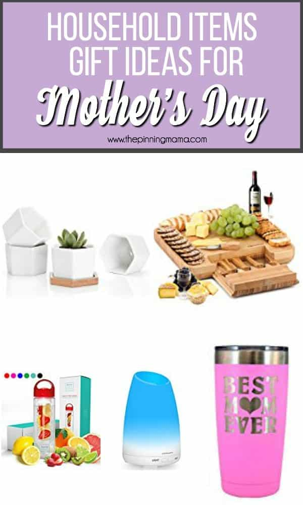 Household items gift ideas for Mother''s Day.