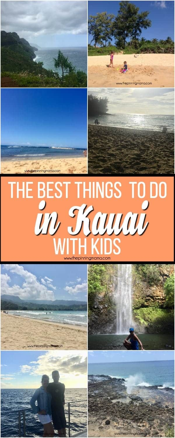 The BEST things to do in Kauai with kids.