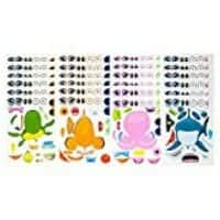 Make a sea sticker craft for school parties
