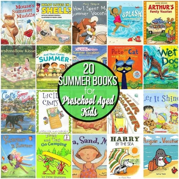 20 Summer Books for Preschool Aged Kids